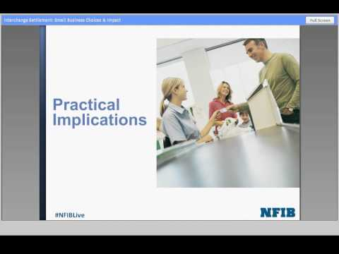 What is the Credit Card Settlement? | NFIB Small Business Webinar