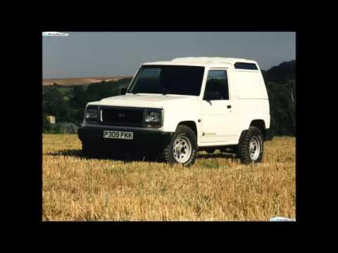 1997 Daihatsu Fourtrak Youtube