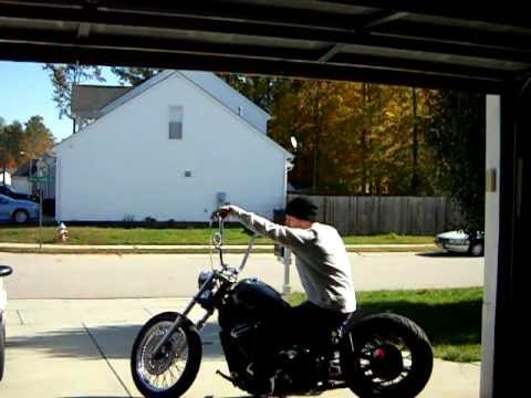 Vlx Hardtail Bobber Youtube