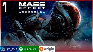 "MASS EFFECT ANDROMEDA Gameplay Español Parte 1 (PC Ultra 60FPS) Walkthrough | Prologo ""Andromeda"""