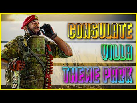 Maestro FULL Setups: Consulate / Villa / Theme Park   Rainbow Six Siege