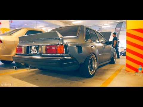 Nissan Sunny B11 Custom Widebody at Retro Havoc 2018