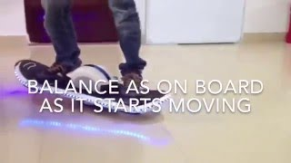 How To Ride One Wheel Electric Skateboard/ Hoverboard