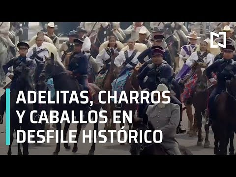 Desfile histórico revolucionario - En Punto
