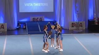 Vista Twisters Junior Group Stunt Level 3