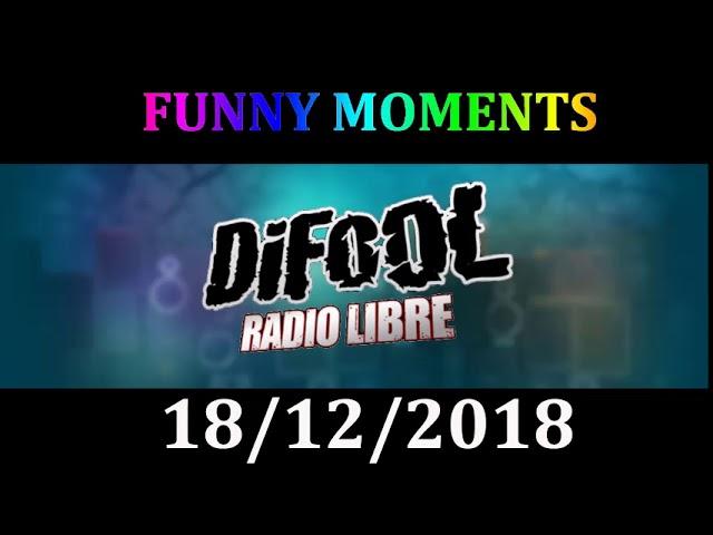 RADIO LIBRE DE DIFOOL 18 DECEMBRE 2018