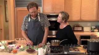 Greg Daniels Makes Beet Pickled Deviled Eggs
