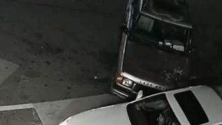 Driver's gas station ramming spree caught on camera thumbnail