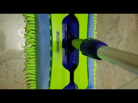 Гринвей универсальная швабра с двумя насадками из расеченого микроволокна.