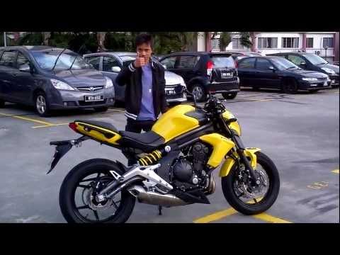 Kawasaki Er6n Test Ride Youtube