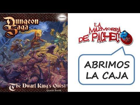 Dungeon Saga: Unboxing