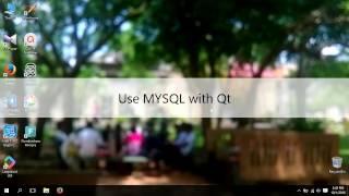Qt MYSQL Connect Complete Tutorial  - Xampp - Mysql Connector C(, 2016-10-01T11:53:33.000Z)
