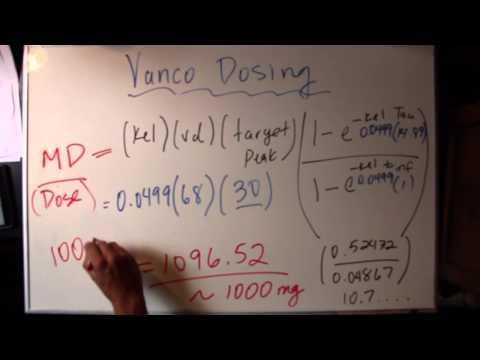 Vancomycin Dosing