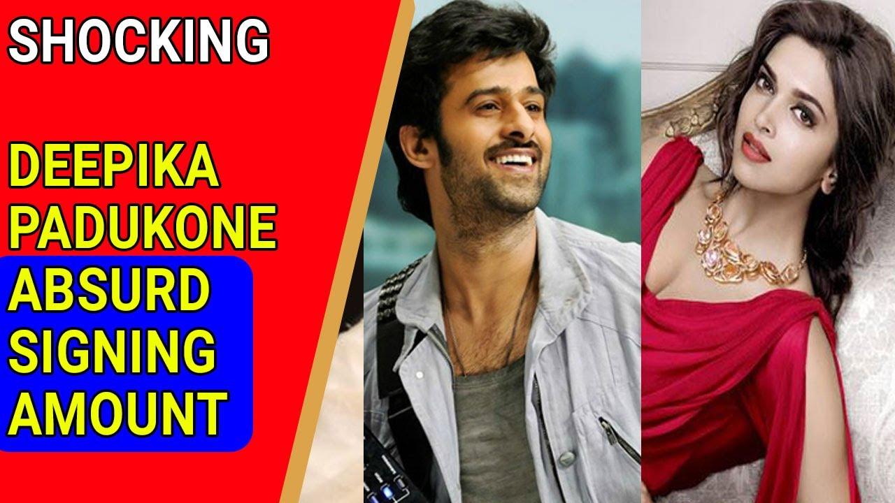 Deepika Padukone's absurd Signing Amount for Prabhas film ...
