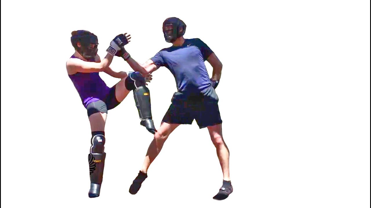 Sparring Wing Chun One-Handed