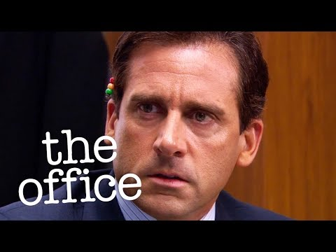 Michael Emails A Topless Jan To Everyone  - The Office US