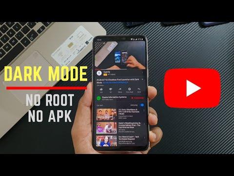 youtube dark apk no root