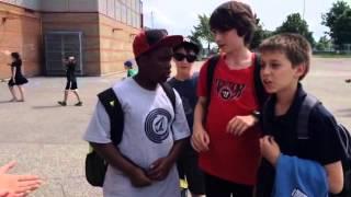 école au Point-du-Jour (Vidéoclip par la classe 601)