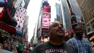 NYC vlog B&H Times Square & Katz's Deli