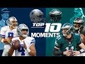 Cowboys vs. Eagles: Top 10 Moments in the NFC East Rivalry | NFL Highlights