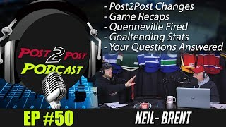 """Podcast: Ep #50 """"Post2Post Changes, Quenneville, Goaltending, Q&A + More!"""""""