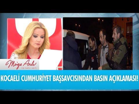 Kocaeli Cumhuriyet Başsavcısı Habib Korkmaz'dan açıklama - Müge Anlı ile Tatlı Sert 14 Ocak 2019