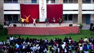 aaluma doluma    dance performance    blossoms    christ university    vedalam    breathe dance