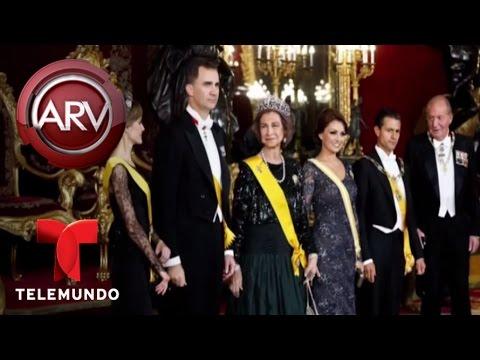 Angélica Rivera criticada por actitud con Peña Nieto | Al Rojo Vivo | Telemundo