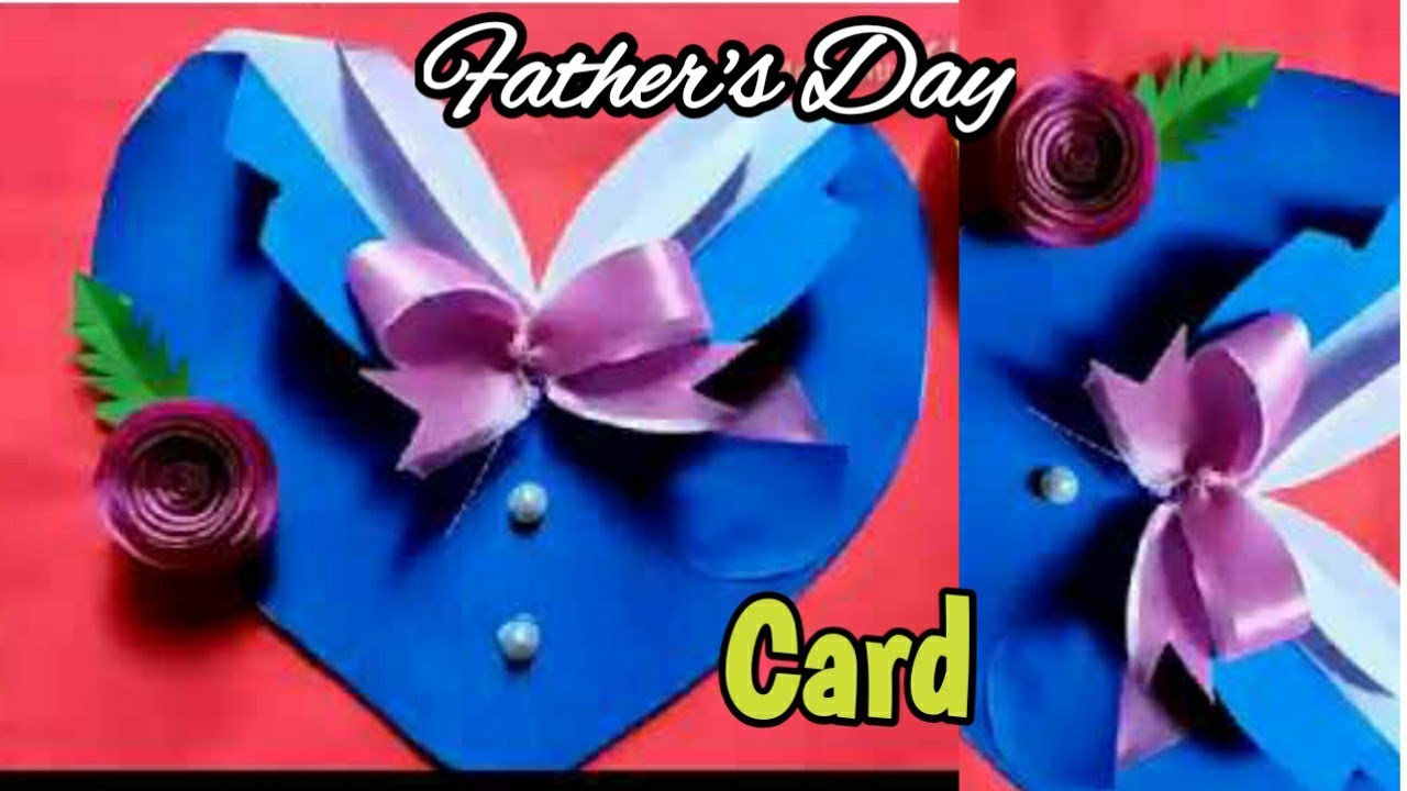 diy father's day card making  easy and beautiful card