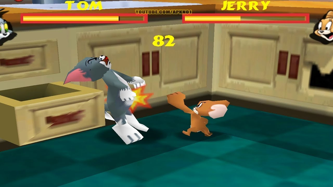 Tom and Jerry 2 - GamesList.Com - Play Free Games Online