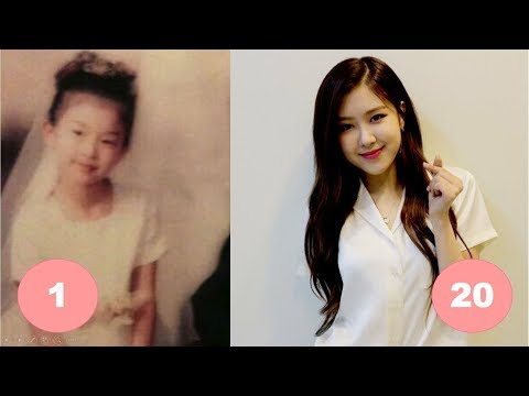 Rosé BLACKPINK Childhood | From 1 To 20 Years Old