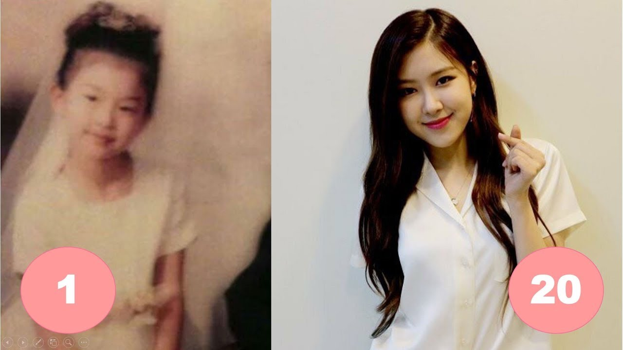 Rose BLACKPINK: From 1 To 20 Years Old - YouTube