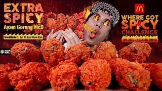 14 KETUL MCD AYAM GORENG 3X EXTRA SPICY.. OK! JAMBAN DA KIRIM SALAM | EATING SHOW W/ ASMR