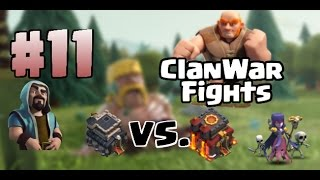 clanwar 11 king o gogiwiwi rh9 vs rh10 i clash of clans