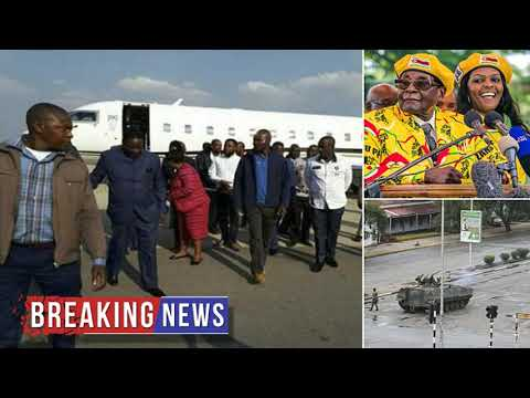 HOT NEWS Robert Mugabe detained by Zimbabwe army | Daily Mail Online