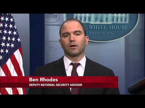 Deputy National Security advisor on Hamas, Russia sanctions
