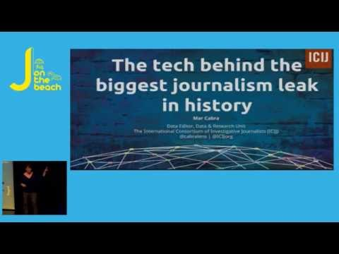 The tech behind the biggest journalism leak in history - Mar Cabra - JOTB16
