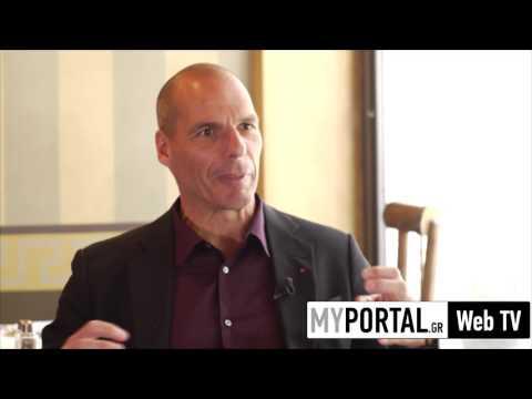 Γιάνης Βαρουφάκης Συνέντευξη στο MyPortal.gr Web TV