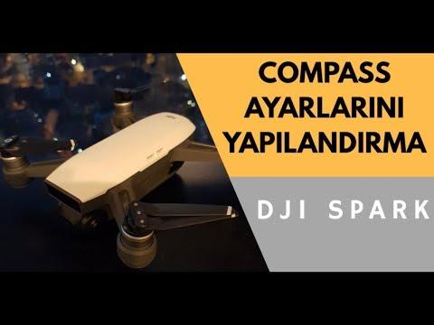 DJI SPARK | COMPASS AYARLARINI YAPILANDIRMA