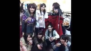 石田晴香「シャンメリーで 乾杯です!`・ω・´」 thumbnail