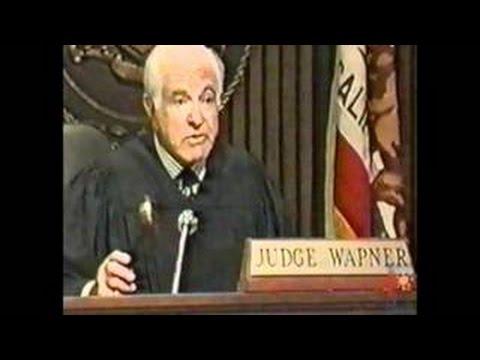 The People's Court's joseph wapner