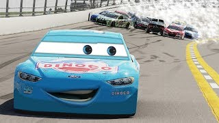 Dinoco McQueen Made It Through! (Everyone Wrecked!) | Forza Motorsport 6 | NASCAR Expansion