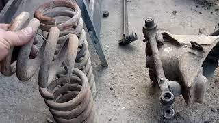 Новости про РАФ. Разбор подвески. Ремонт и реставрация ГАЗ 24 и РАФ