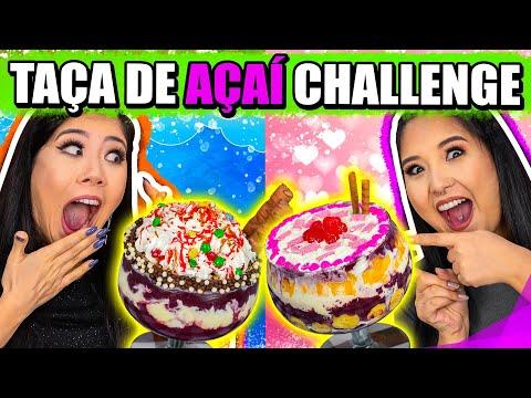 SUPER TAÇA DE AÇAÍ CHALLENGE! – Desafio do açaí | Blog das irmãs