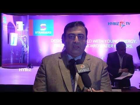Havells India Launches Water Heater under Standard Branding || Abhra Banerjee