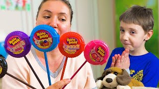 HUBBA BUBBA Lollipop & Finger Song, where are you? Baby Nursery Rhymes for Children
