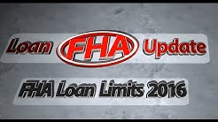 FHA Loan Limits 2016