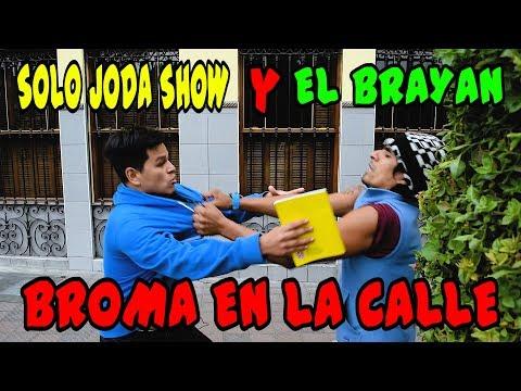 BROMA EN LA CALLE - Loco IORI - SoloJodaShow