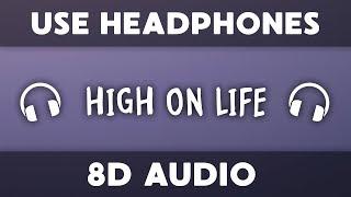 Martin Garrix - High On Life (8D Audio) ft. Bonn