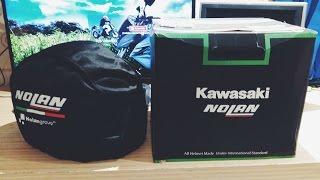 Video MOTOVLOG GEAR #1 : Unboxing NOLAN N86 Indonesia [Kawasaki Edition] download MP3, 3GP, MP4, WEBM, AVI, FLV Mei 2018